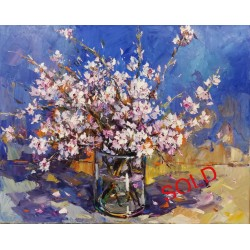 ALMOND BLOSSOMS FROM THE...