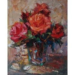 "ORANGE ROSES ""Rosas naranja"""